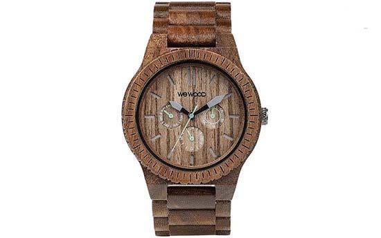 زیباترین ساعت های مچی مردانه که از جنس چوب هستند تصاویر