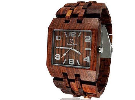 زیباترین ساعت های مچی مردانه که از جنس چوب هستند+تصاویر