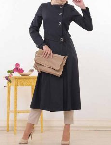 مدل مانتو با حجاب دخترانه