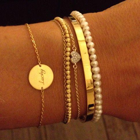 مدل های جدید دستبند ساده و ظریف دخترانه +تصاویر