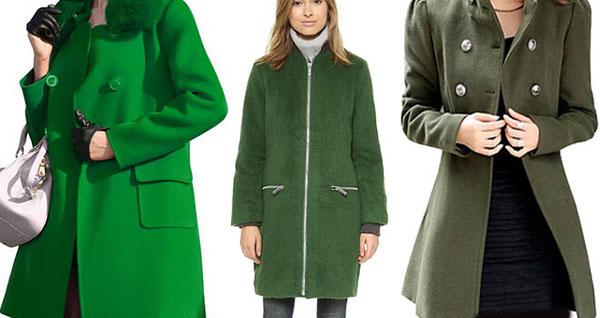 لباس با رنگ سبز