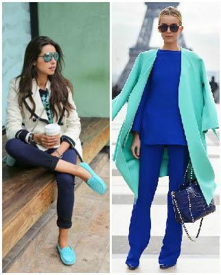 جذاب ترین و بهترین ترکیب رنگ لباس برای شیک پوش ها+تصاویر