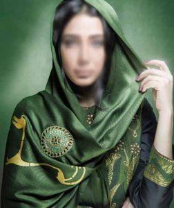 مدل روسری سبز