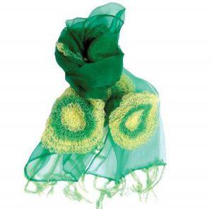 مدل روسری سبز سال جدید میلادی تصاویر