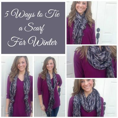شال گردن زمستانی را با این روش ها ببندید +تصاویر