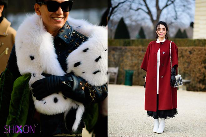 استایل های خیابانی هفته طراحان پاریس +تصاویر