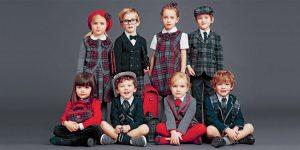 لباس هایی با پارچه چهارخانه ، مد همیشگی پوشاک کودکان +تصاویر