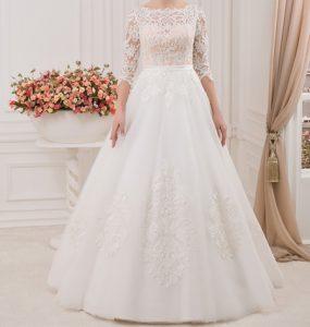 شیک ترین لباس عروس های آستین دار