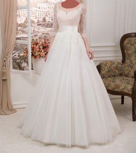 شیک ترین لباس عروس های آستین دار تصاویر