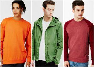 ترکیب رنگ لباس های مردانه