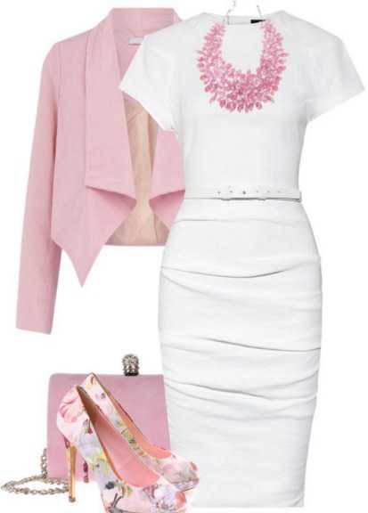 ست کردن لباس مجلسی