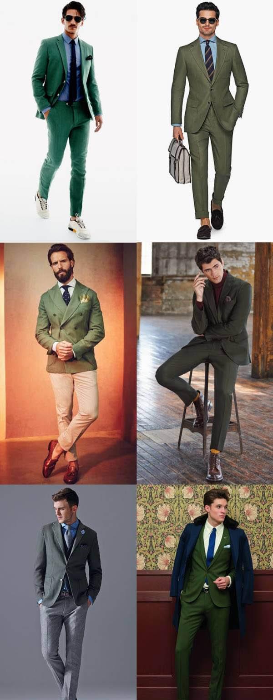 اصول ست کردن لباس های مردانه با رنگ سال 2017
