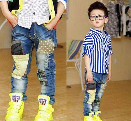 بچه ها ی خوش تیپ و خوش لباس را با این لباس ها ببینید+ تصاویر