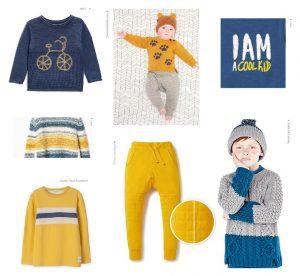 طرح و رنگ های پیشنهادی پوشاک کودکان