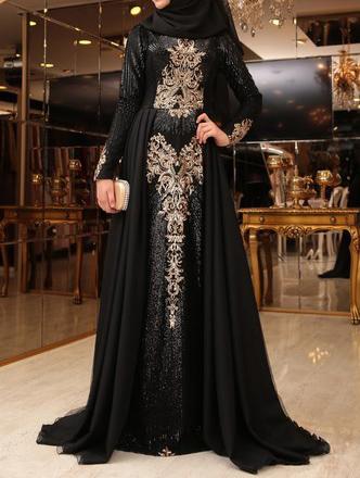 لباس مجلسی با حجاب +تصاویر