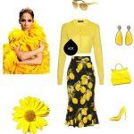 ست لباس بهاری به سبک جنیفر لوپز +تصاویر