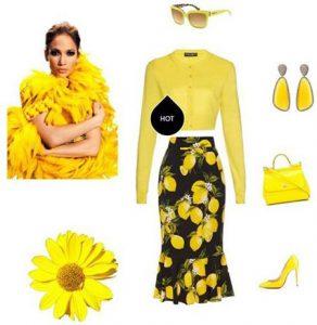 ست لباس بهاری به سبک جنیفر لوپز