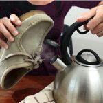 تمیز کردن کفش جیر +تصاویر