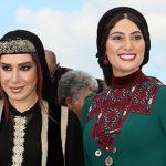 مدل لباس نسیم ادبی و سودابه بیضایی در جشنواره کن 2017