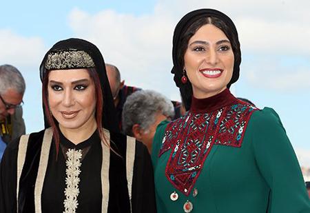 مدل لباس نسیم ادبی و سودابه بیضایی در جشنواره کن ۲۰۱۷