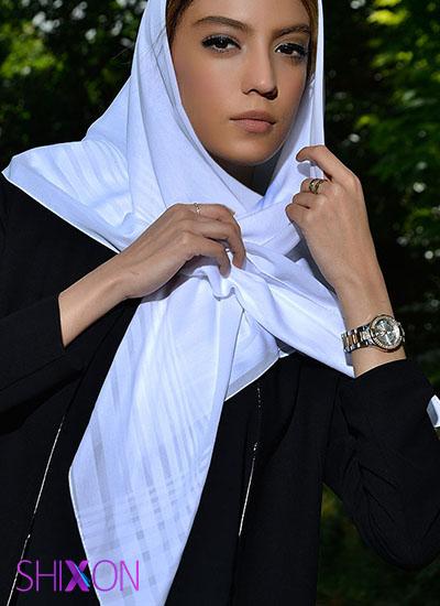 شال و روسری مناسب با فرم صورت
