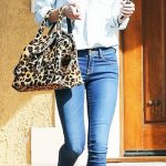 مدل کیف پلنگی گوچی در سال 2017