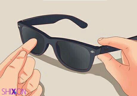 روش تشخیص عینک آفتابی اصل از بدل