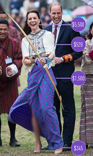 بررسی کمد لباس پرنسس میدلتون