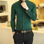 ست کردن لباس آقایان با رنگ سبز +تصاویر