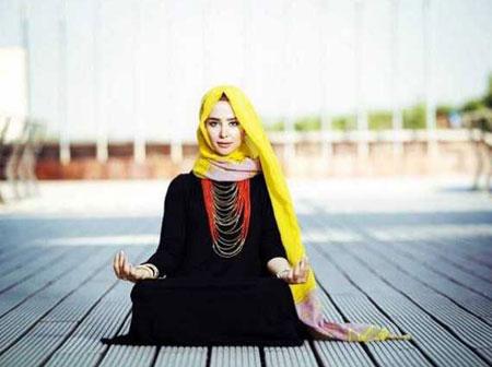 مدل مانتوهای الناز حبیبی
