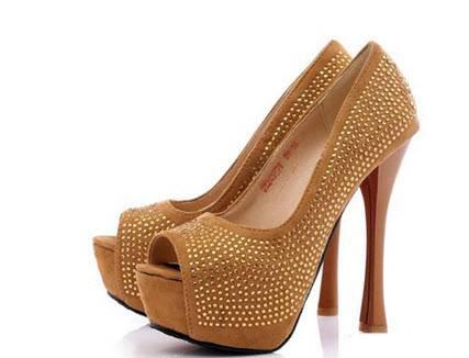 مدل کفش های پاشنه دار و مجلسی قهوه ای