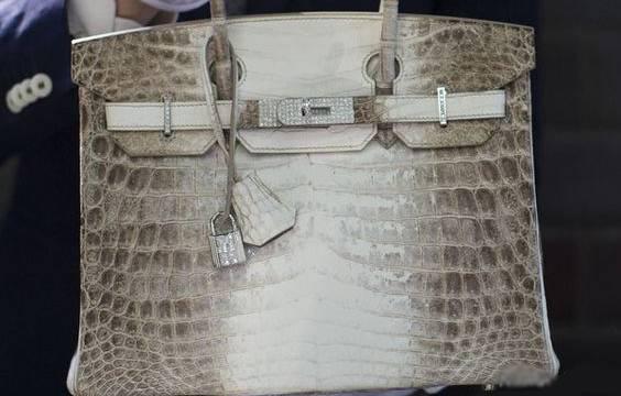 کیف زنانه میلیاردی با پوست کروکودیل