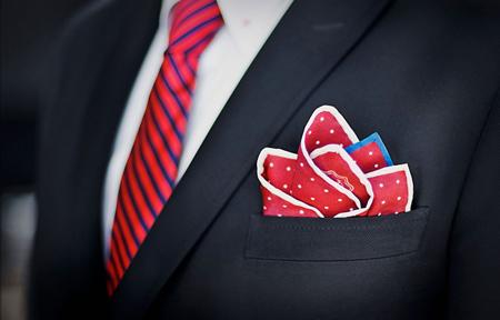 خرید کراوات و دستمال جیب