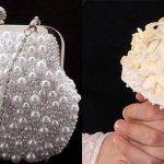 اکسسوری های مرواریدی شیک برای لباس عروس