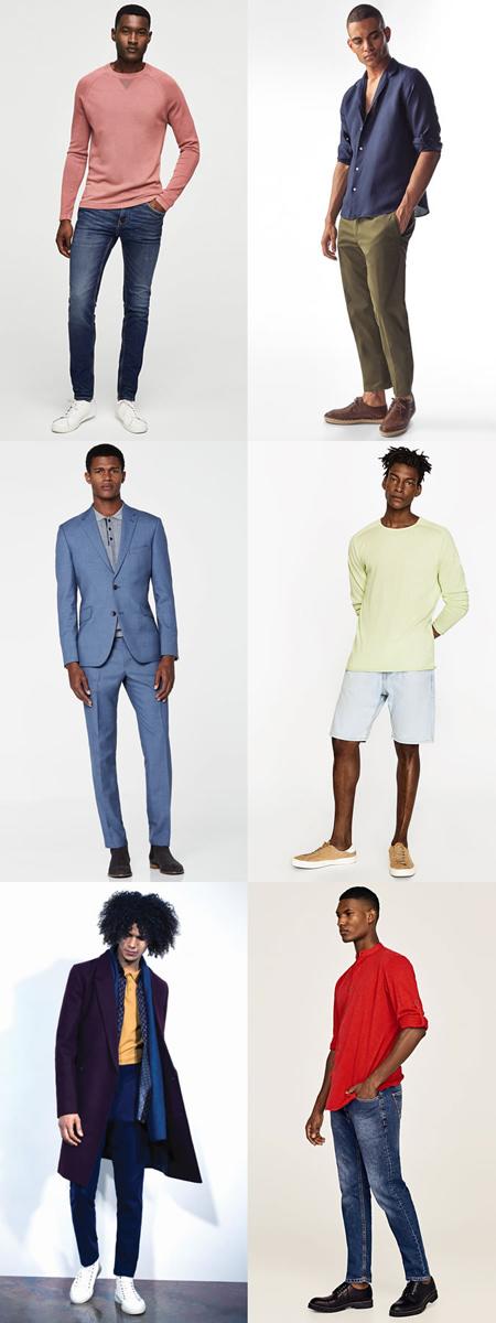 رنگ مناسب برای لباس