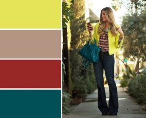 ترکیب رنگهای مناسب برای لباسهای پاییزی