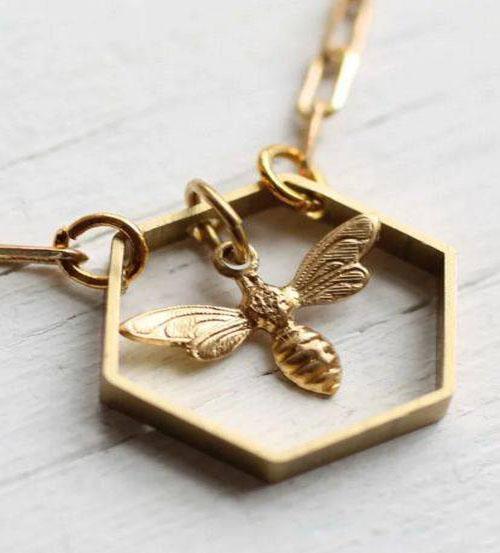 زیورآلات زنبوری