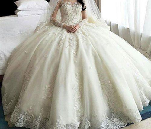 تکنیک های انتخاب لباس عروس