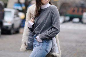 شیک پوشی برای لباس های یقه اسکی