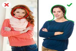 روش های لباس پوشیدن برای لاغرتر شدن