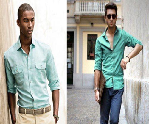 پیراهن مردانه تابستانه