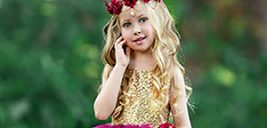 دختر کوچولوتون را تبدیل به یک پرنسس کنید