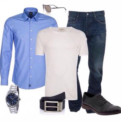 پوشیدن لباس جین