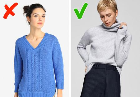 اشتباهات انتخاب لباس