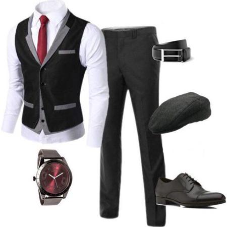 نحوه لباس پوشیدن آقایان