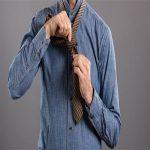 آموزش گره زدن کراوات به صورت تصویری