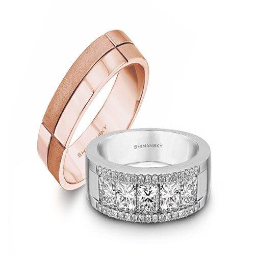 استفاده از انگشتر الماس برای حلقه نامزدی