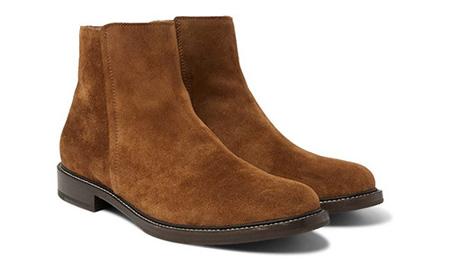 کفش قهوه ای