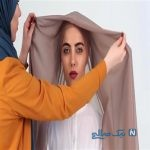 جدیترین مدل بستن شال دخترانه برای بهار ۹۸