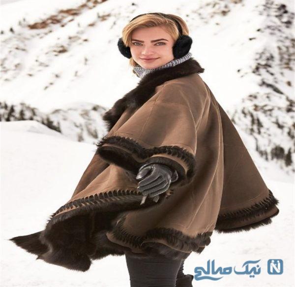 مدل پانچو زمستانی